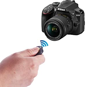 WAAO Ultra Slim Wireless IR Remote Control Replacement ML-L3 Compatible with Nikon DSLR SLR Cameras Camcorders (Color: IR Remote Control for Nikon)
