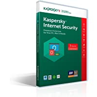 Kaspersky Lab Internet Security 2017 Software - 3 Device/1 Year for Free