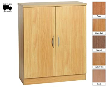 R White Mid Level Cupboard M-C85 H1032xW850xD370mm - Color: Beech