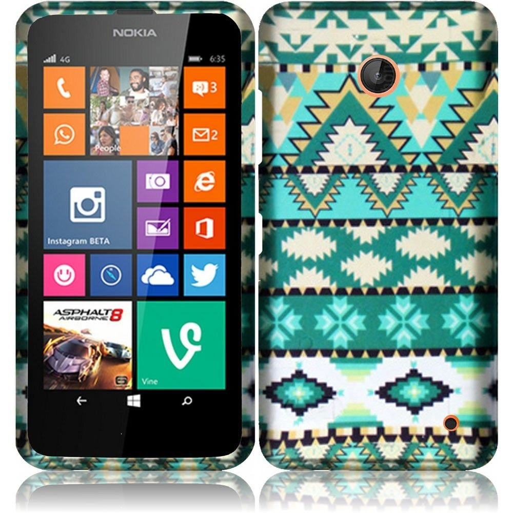 Antique-Classic-Work-Hard-Case-Cover-Premium-Protector-for-Nokia-Lumia-635-by-AT-T-Metro-PCS-T-Mobile-with-Free-Gift-Reliable-Accessory-Pen