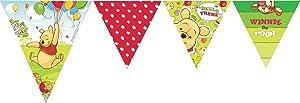Amscan - 2,9 m Bunting Winnie Pooh la fiesta de cumpleaños   Comentarios y más información