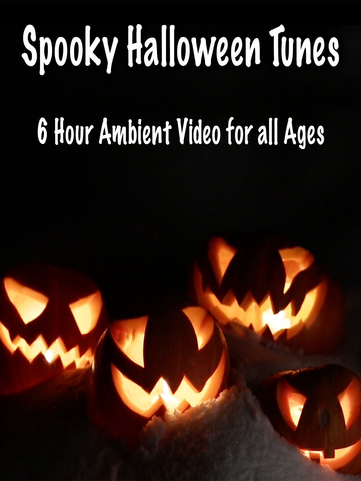Spooky Halloween Tunes 6 Hour Ambient Video for All Ages