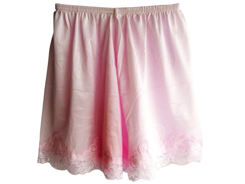 Damen Nylon Halb Slips Neu UPPNTPK PINK Half Slips Women Pettipants Lace günstig kaufen