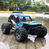 FITMAKER RC Car, All Terrain Remote Control High-Speed Telecar, Offroad 2.4Ghz 2WD Remote Control Monster Truck, for Kids and Adults