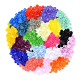 300 Complete Sets KAM Snap Kits Plastic Resin Snap Fastener Buttons KAM T5 Size 20 (1/2