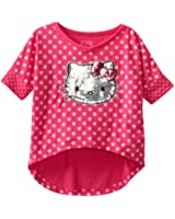Hello Kitty Little Girls' Shirt In Hi-Low