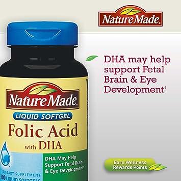 Folic acid with dha