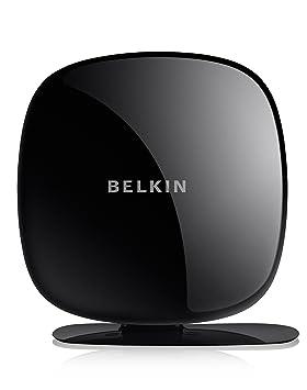 Belkin Play N600 DB - Router (10, 100 Mbit/s, 10/100Base-T(X), 802.11a, 802.11b, 802.11g, 802.11n, 300 Mbit/s, Ethernet (RJ-45), IEEE 802.11a, IEEE 802.11b, IEEE 802.11g, IEEE 802.11n, IEEE 802.3, IEEE 802.3u) Negro