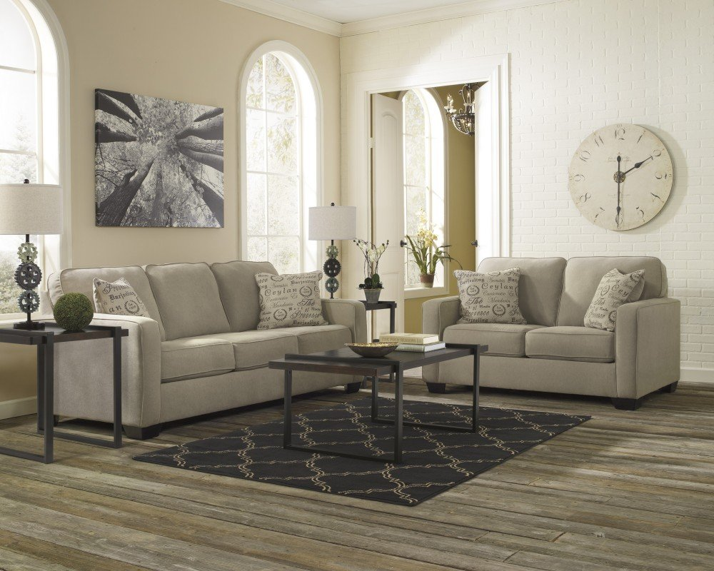 Ashley Furniture Industries - Alenya Stationary Sectional - (Includes: 1 Sofa & 1 loveseat)