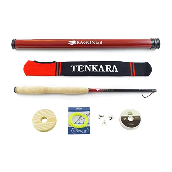 DRAGONtail Tenkara Shadowfire 12' Complete Starter Package