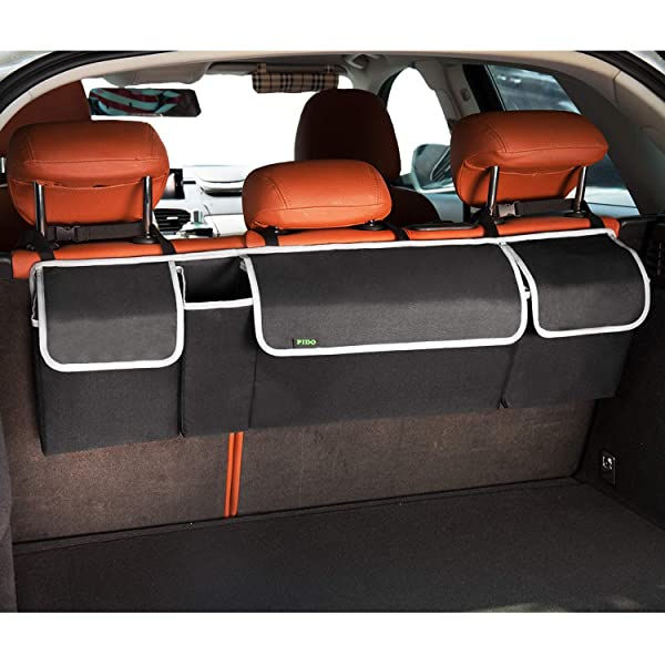 High Road ZipFit SUV Trunk Organizer and Hanging Car Storage Organizer