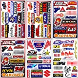 Graphic Racing Sticker Decal Motocross ATV Dirt 6 Sheets