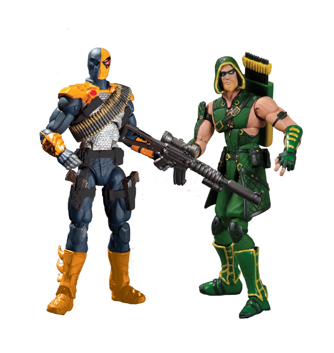 DC Collectibles Injustice Deathstroke vs. Green Arrow Action Figure, 2-Pack