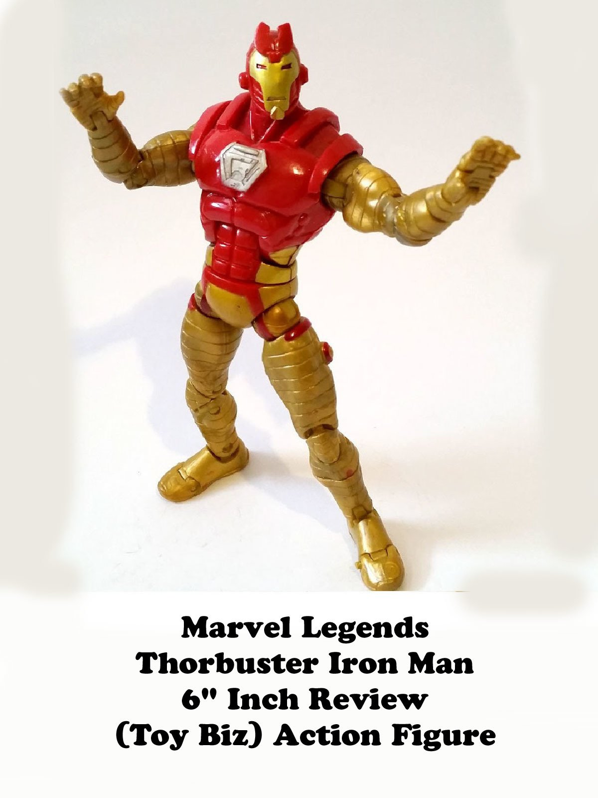 "Review: Marvel Legends Thorbuster Iron Man 6"" Inch Review (Toy Biz) Action Figure"