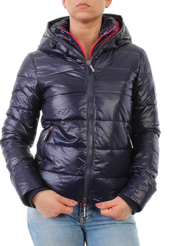 Superdry Jacke Women BASE CAMP PUFFER Navy günstig online kaufen