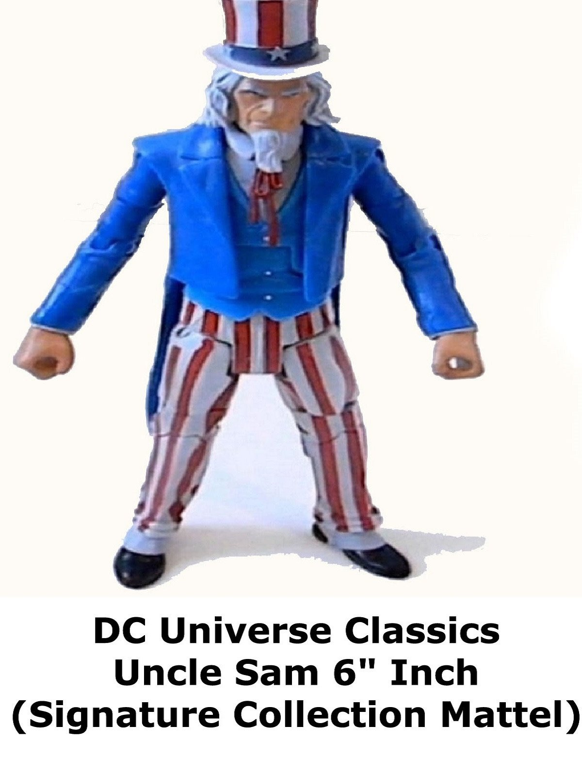 "Review: DC Universe Classics Uncle Sam 6"" Inch (Signature Collection Mattel)"