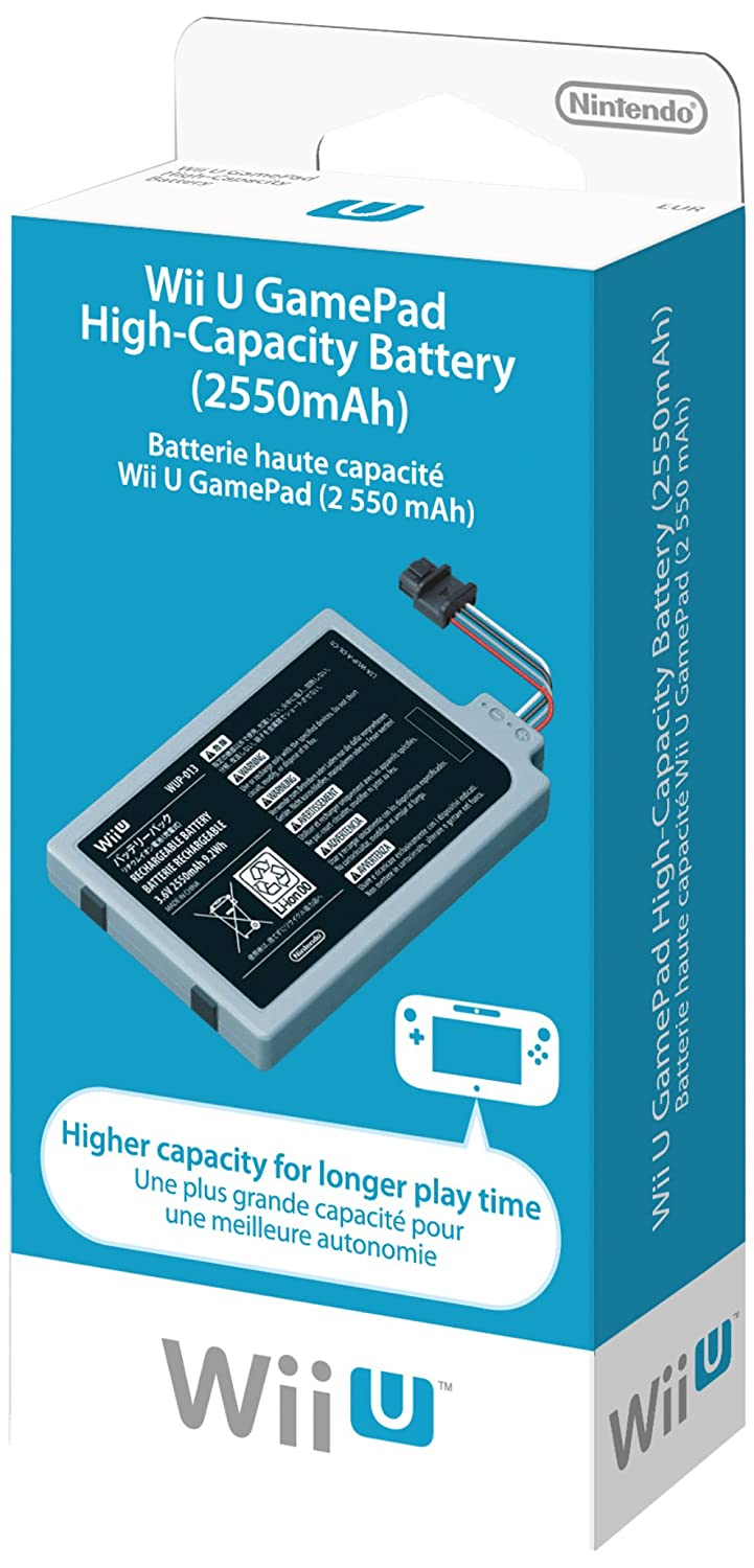 Wii U High Capacity-Battery and Wii Remote Rapid Charger