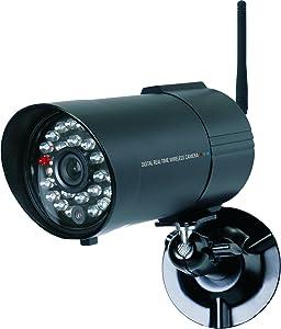 Elro CS85C drahtlose FunkAußen/Zusatzkamera für CS85DVR, bis zu 150 m Funkreichweite  BaumarktKundenberichte und weitere Informationen