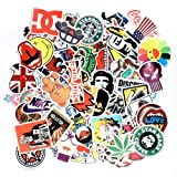 JTL Stickers Boom Pack,Bunch of Brand Anime Comics Movies Graffiti Video Games Hypebeast Cartoon Vinyl Stickers Decals for Laptop MacBook,Cars Bumper,Motorcycle,Bicycle,Skateboard,Luggage (100Pcs A) (Tamaño: 100Pcs A)