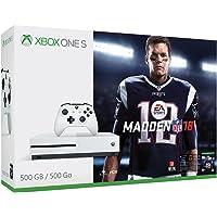 Xbox One S Madden NFL 18 500GB Bundle + Free NBA 2K17 Legend Edition Xbox One