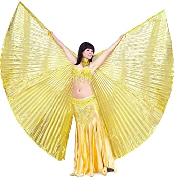 belly dancer Isis wings