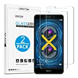 OMOTON Tempered Glass Screen Protector Compatible Huawei Honor 6X 5.5 Inch, 2 Pack (Color: Huawei Honor 6X Screen Protector)