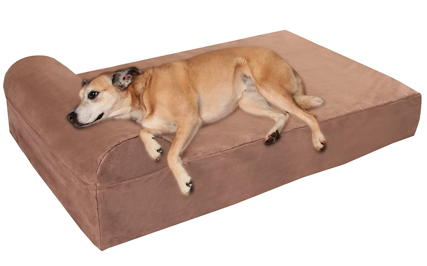 Best orthopedic dog beds for large dogs herepup for Big dog furniture