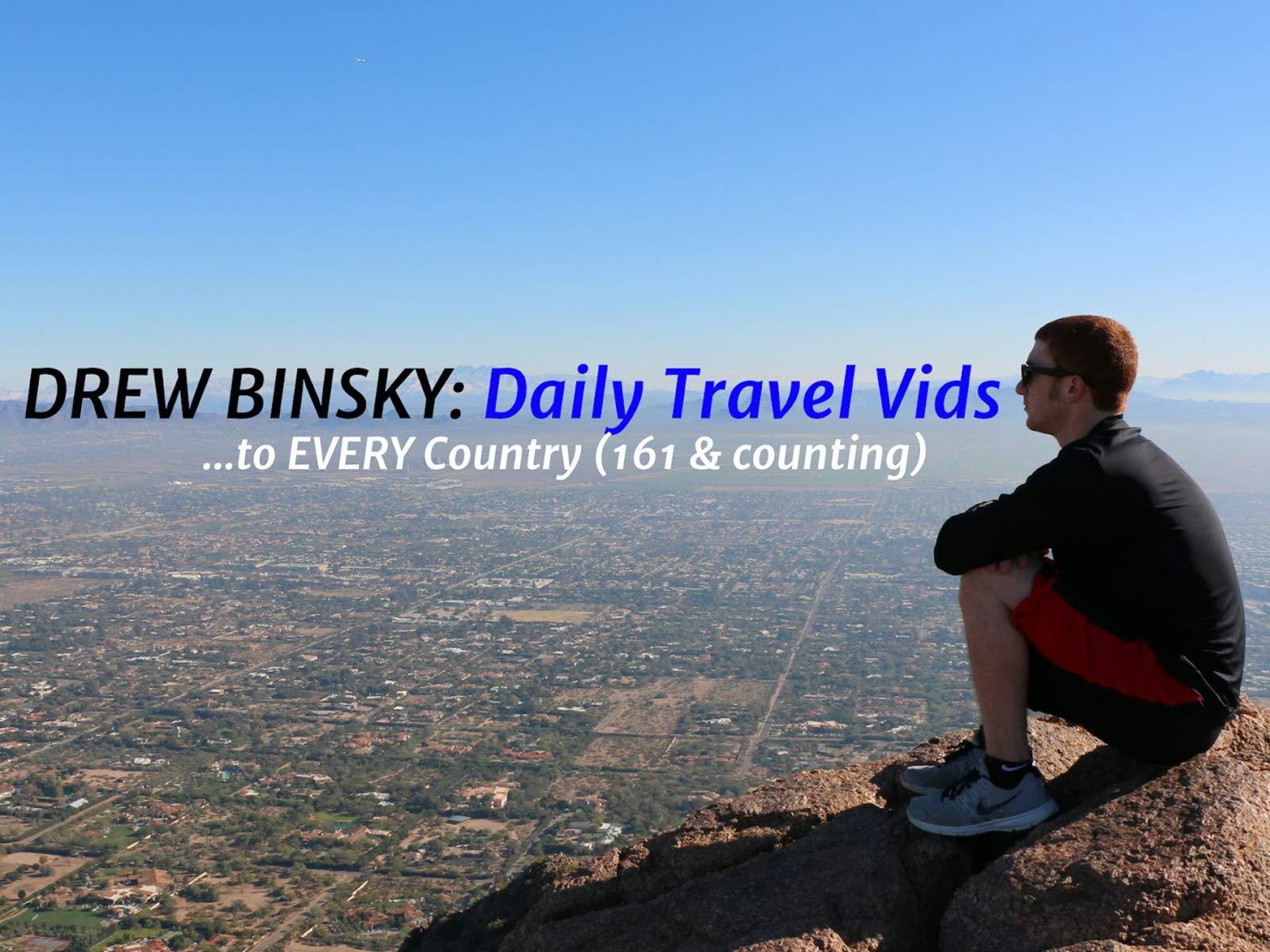 Drew Binsky on Amazon Prime Video UK