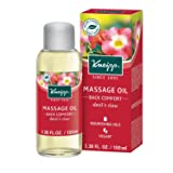 Kneipp Massage Oil, Back Comfort, Devil's Claw, 3.38 fl. oz. (Color: Devil's Claw, Back Comfort)