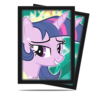 Ultra Pro - 330647 - Jeu De Cartes - Housse De Protection - My Little Pony Twilight Sparkle - 65 Pièces - C60