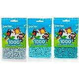 Perler Bead Bag 1000, 3-Pack - Mist, Sky & Lagoon (Color: Mist, Sky, Lagoon)