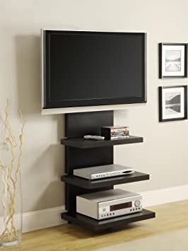 Hollow Core AltraMount TV Stand in Black