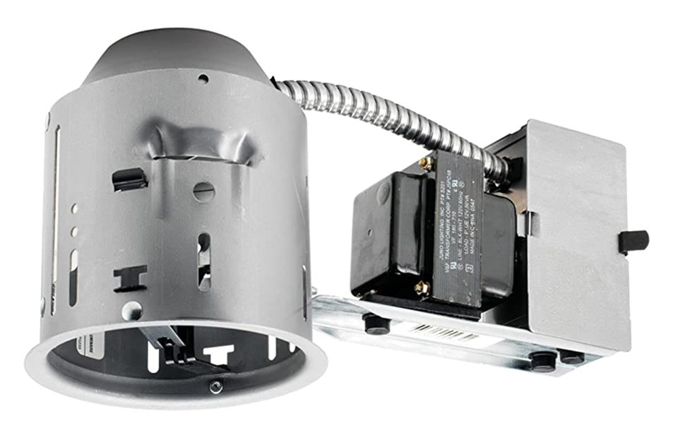 4 Recessed Lighting Housing Ic Remodel : Juno lighting tc r inch rated low voltage remodel