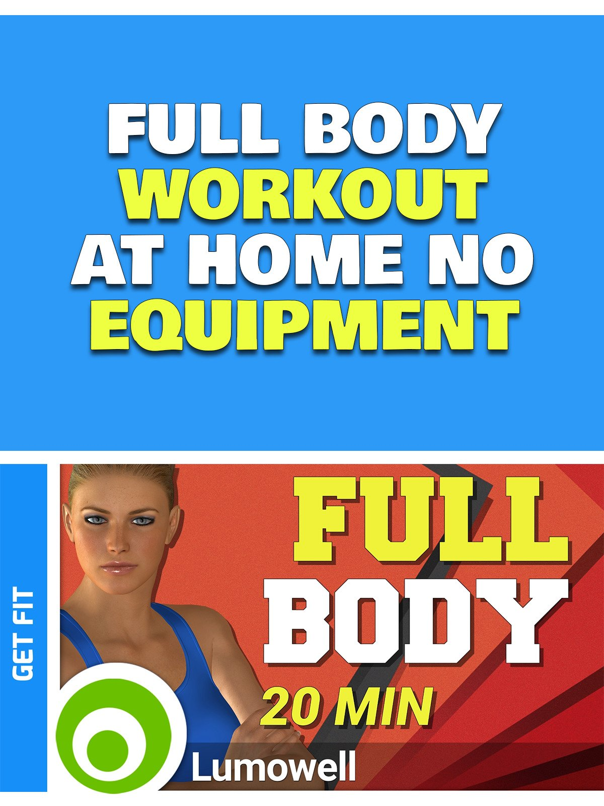 Full Body Workout at Home no Equipment on Amazon Prime Instant Video UK