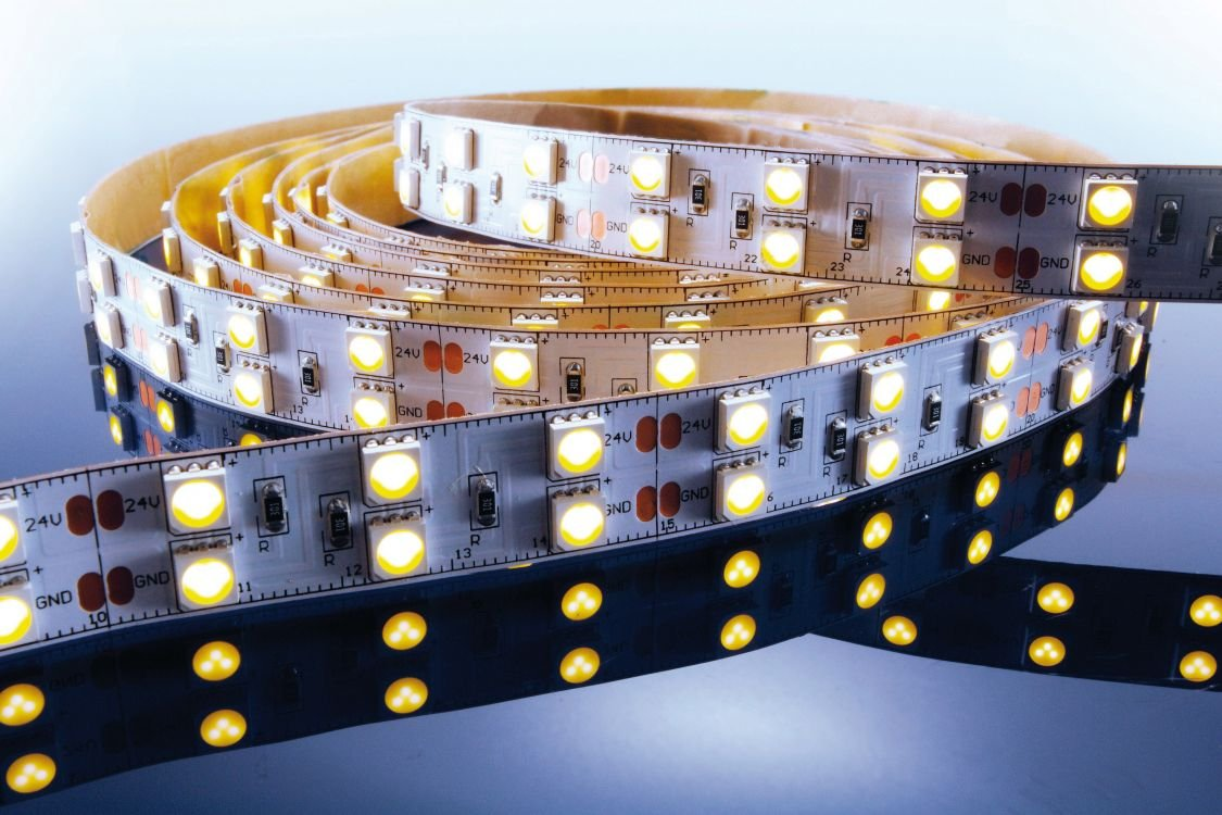 KapegoLED Flexibler LED Stripe, 5050, SMD, 24 V DC, 86,40 W, warmweiß 840069