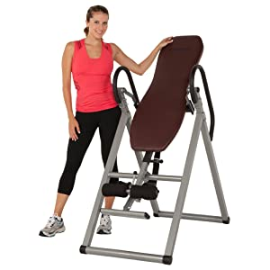 Exerpeutic Inversion Table with Comfort Foam Backrest width=
