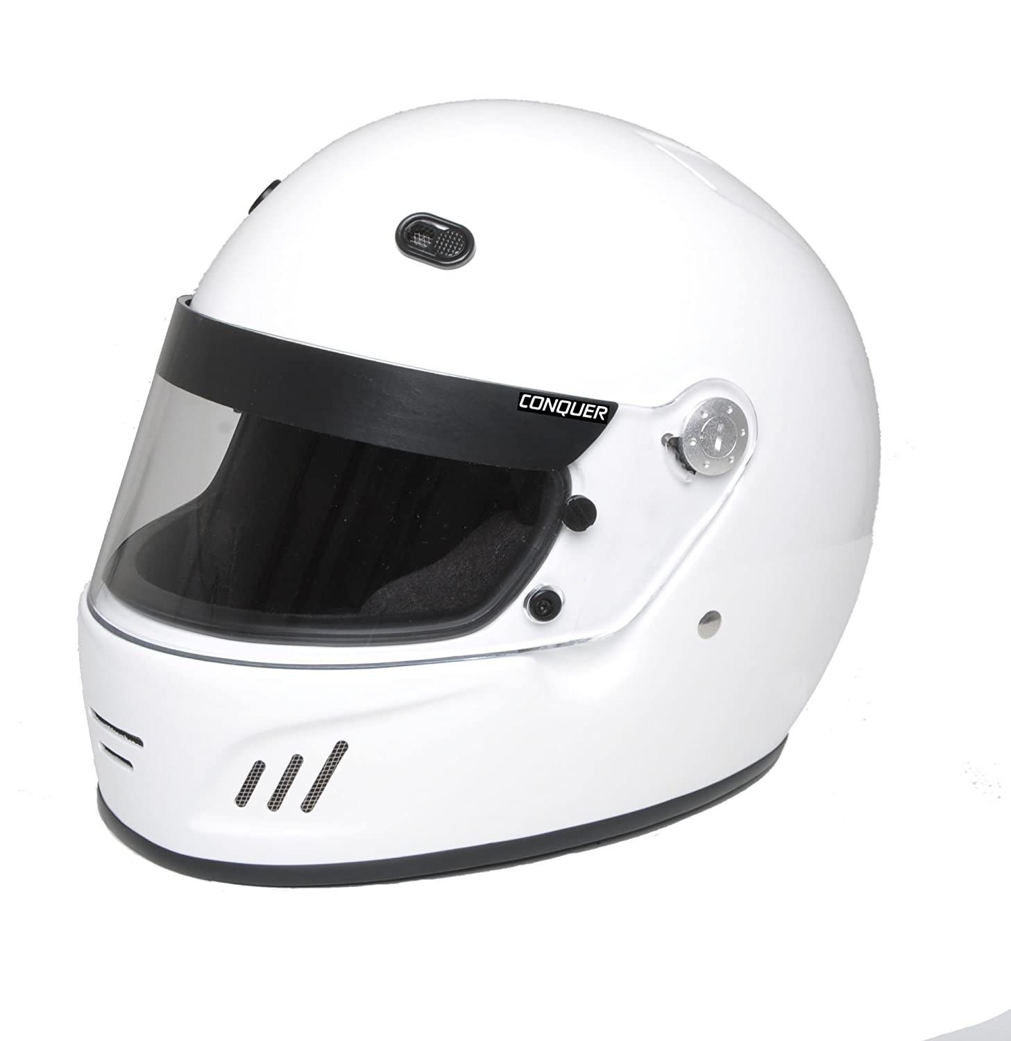 CONQUER SNELL APPROVED FULL-FACE AUTO RACING HELMET