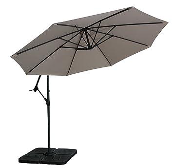zangenberg ampelschirm haiti beige 350 cm dc4. Black Bedroom Furniture Sets. Home Design Ideas