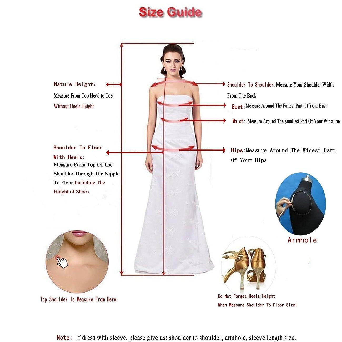 Women's Elegant Sheer Vintage Short Lace Wedding Dress For Bride 3