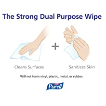 PURELL 9019-01 White Sanitizing Wipes Large Wall Dispenser