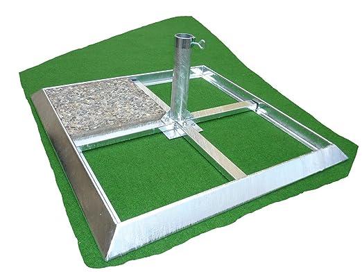 Sombrilla Soporte-de 4,5mm de diámetro Alemán Acero-Manhatten-Grande Pantallas-Placas de pantalla soporte-Metal marco 4,5mm Grosor-80µ galvanizad