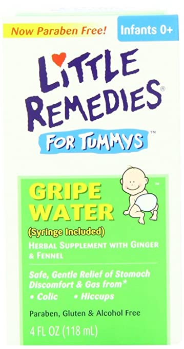 Little Remedies for Tummys Gripe Water 4 Oz (Pack of 3)