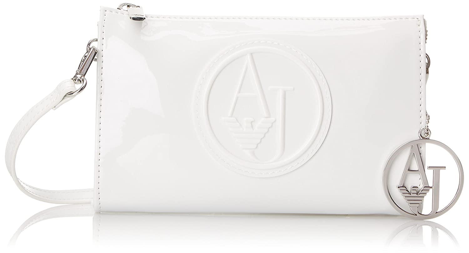 Armani Jeans RJ Small Patent Crossbody with Logo Bag