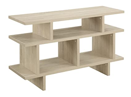 Convenience Concepts Key West 48-inch TV Stand Console, Weathered White Finish