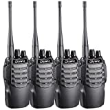 Walkie Talkies Portable 1800MAH Li-ion Battery Long Range Olywiz-826 Two Way Radios Special Designed in Sport Cars Appearance HTD-826 4 Pack (Color: 4 Item, Tamaño: 4 PACK)