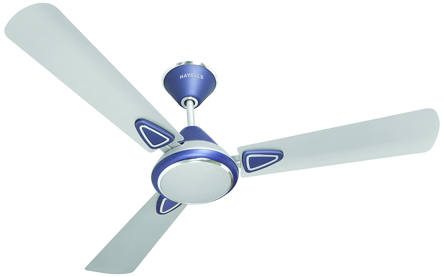 Havells Fusion 2 1400mm Matte Finish Ceiling Fan Silver