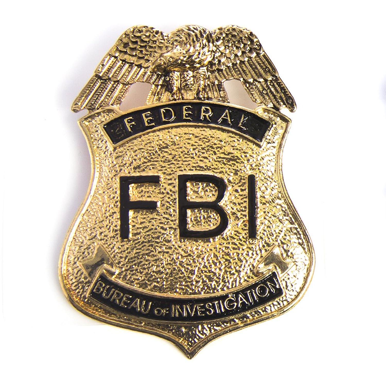 Fbi Police Badg...