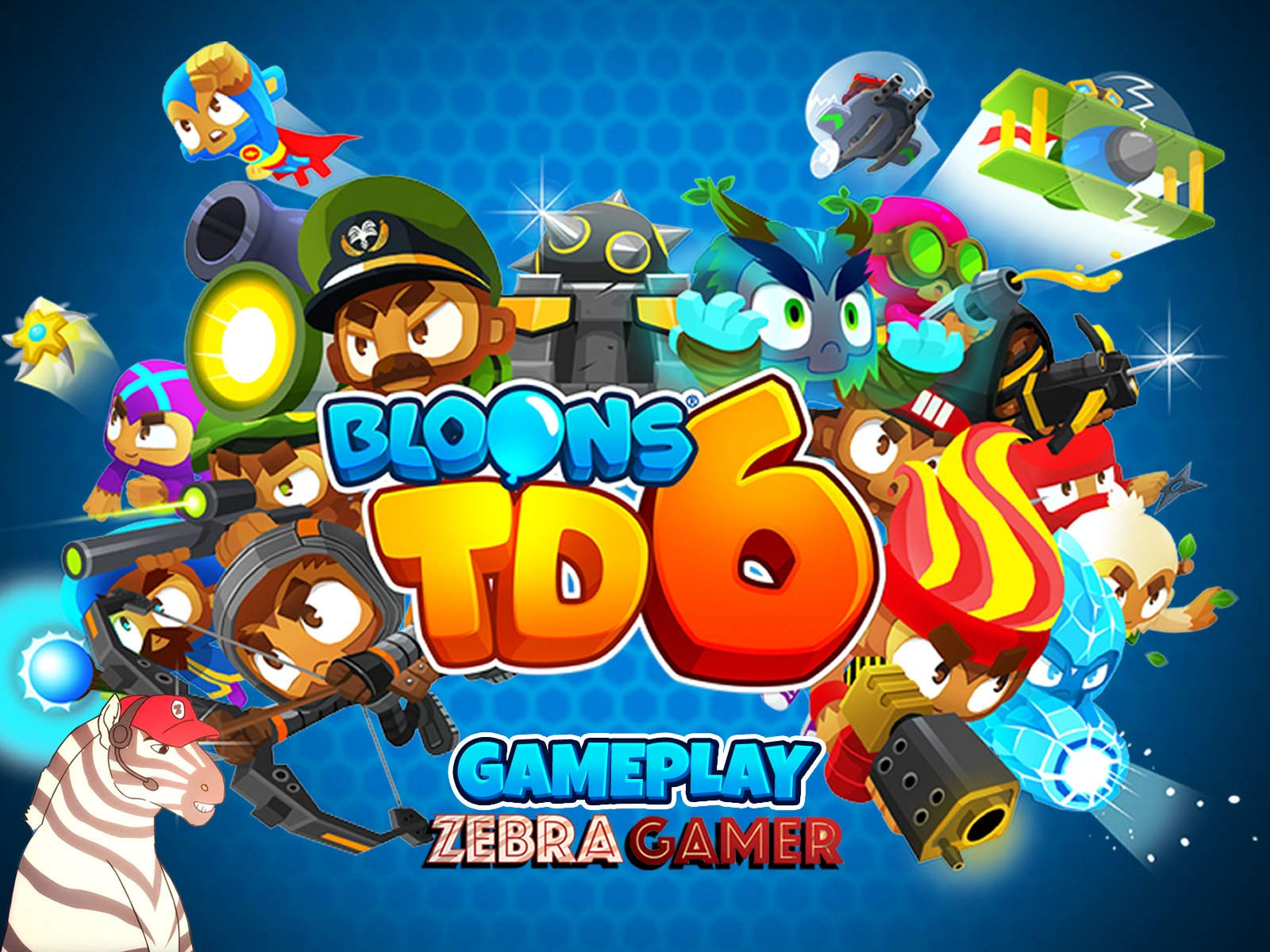 Clip: Bloons TD 6 Gameplay - Zebra Gamer - Season 1