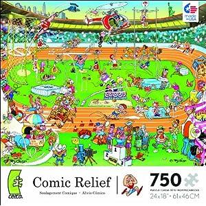 Comic Relief Olympics 750 Piece Jigsaw Puzzle