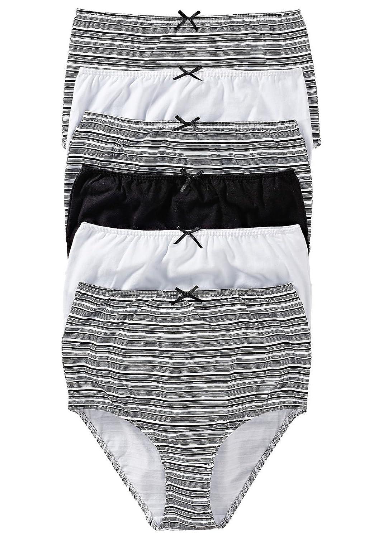 """6er-Pack Taillenslip """"Patricia"""" Damenslips aus Baumwolle Unterhosen Slip Set Größe 48/50, 52/54, 56/58, 60/62 kaufen"""